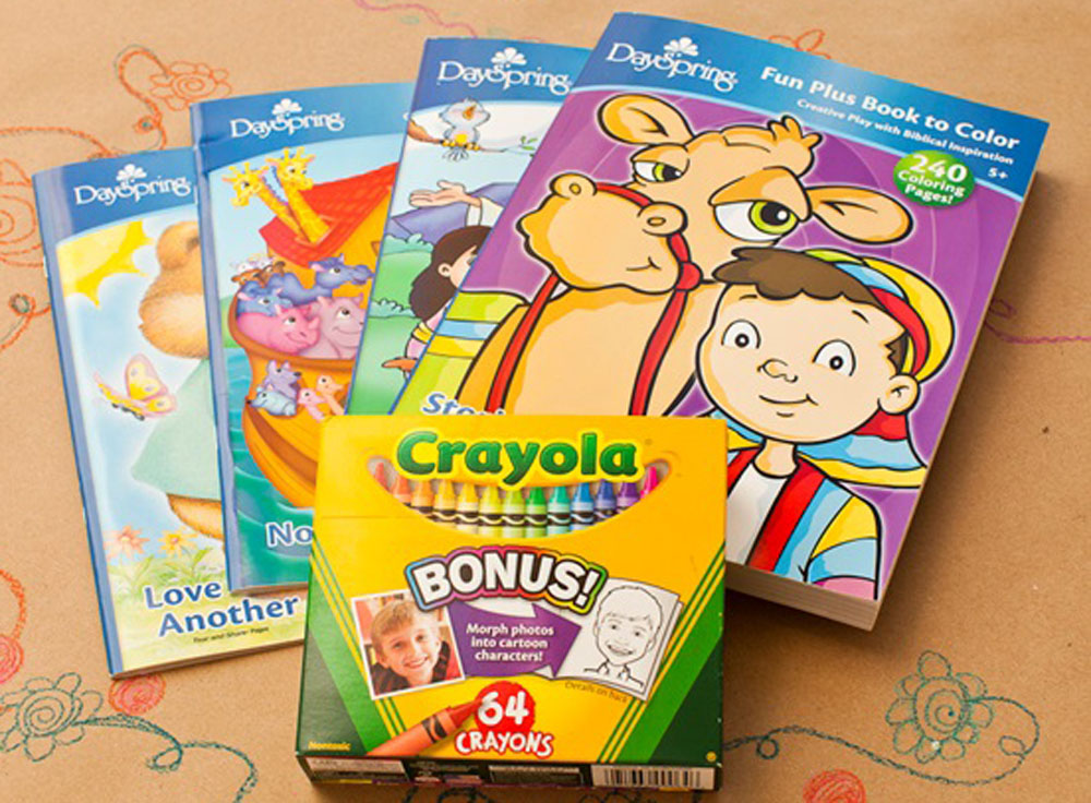 Pictures Of Crayons And Coloring Books