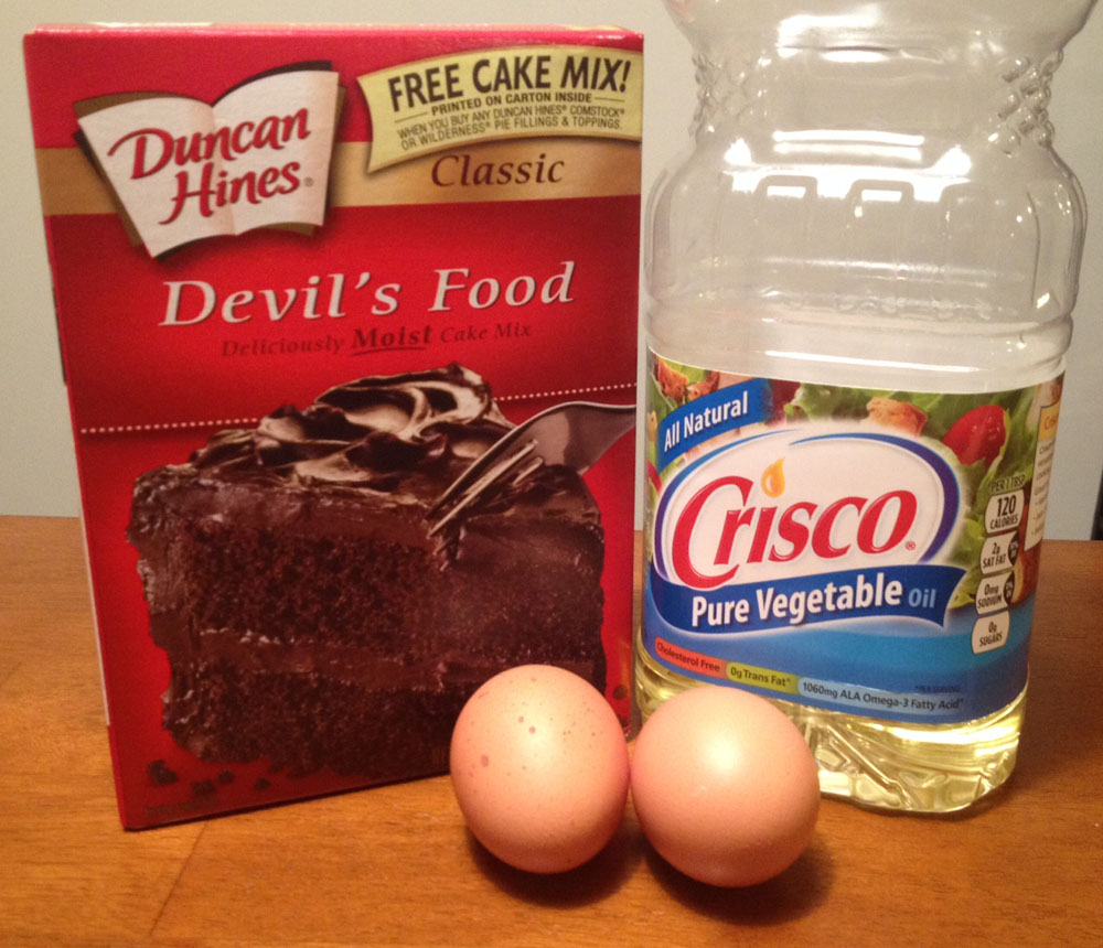 Devil S Food Cake Mix Cookies Pillsbury