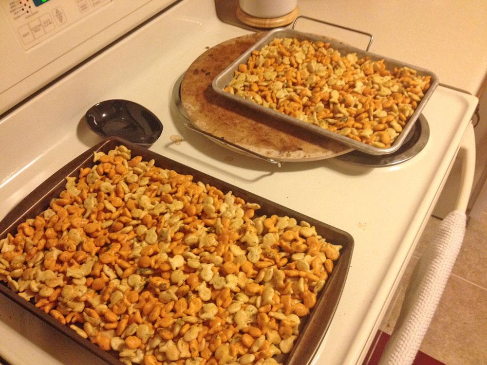 Bake Goldfish Mix