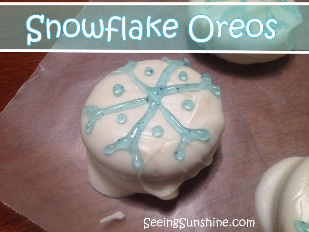 Snowflake Oreos