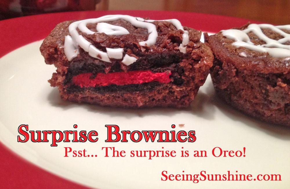 oreo, brownie